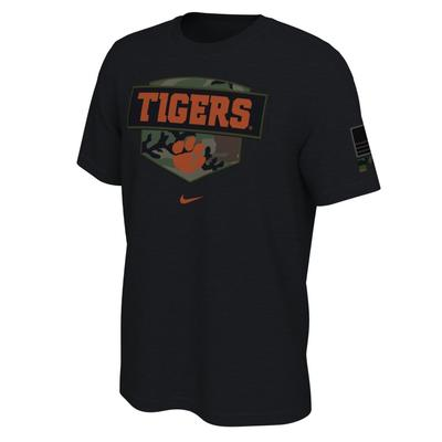 Clemson Nike 2020 Veterans Day Short Sleeve Tee