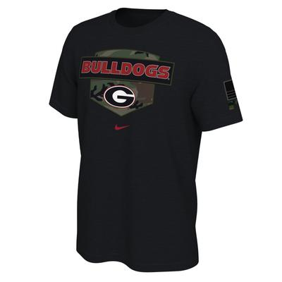 Georgia Nike 2020 Veterans Day Short Sleeve Tee