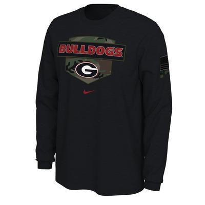 Georgia Nike 2020 Veterans Day Long Sleeve Tee
