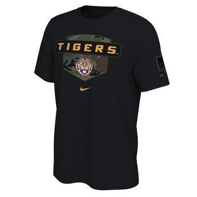 LSU Nike 2020 Veterans Day Short Sleeve Tee