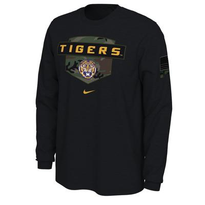 LSU Nike 2020 Veterans Day Long Sleeve Tee