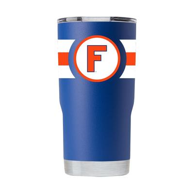 Florida Gametime Sidekicks 20oz Throwback Circle F Tumbler