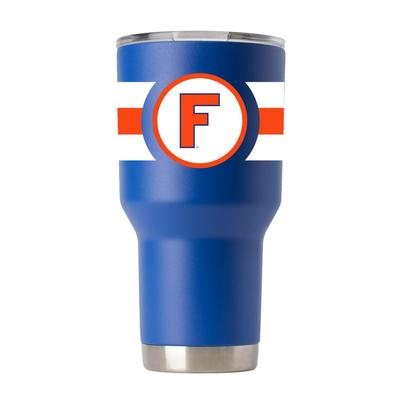 Florida Gametime Sidekicks 30oz Throwback Circle F Tumbler