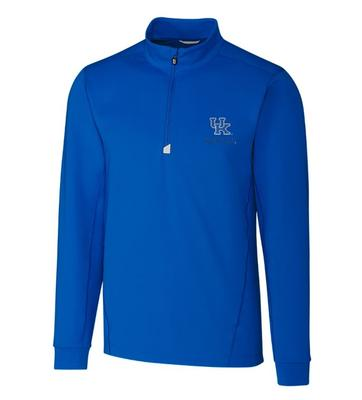 Kentucky Cutter & Buck Men's Traverse 1/2 Zip Pullover