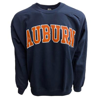 Auburn Arch Logo Crew Sweatshirt