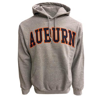 Auburn Arch Logo Hoodie Sweatshirt SPORT_GREY