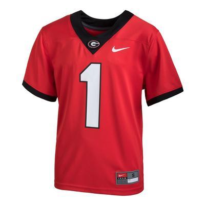 Georgia YOUTH Nike #1 Replica Football Jersey