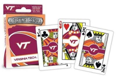 Virginia Tech Playing Cards