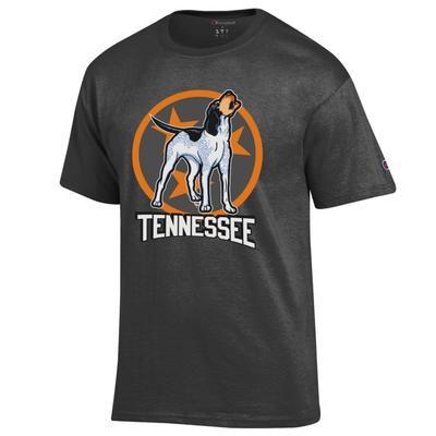 Tennessee Champion Men's Smokey Tri Star Tee Shirt