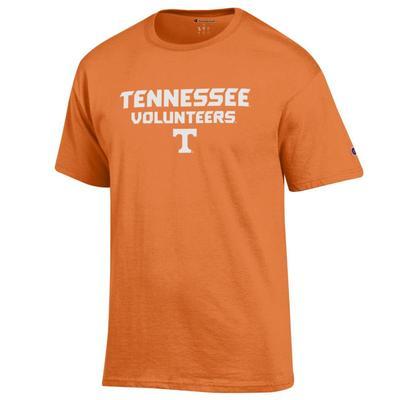 Tennessee Champion Men's Wordmark Tee Shirt