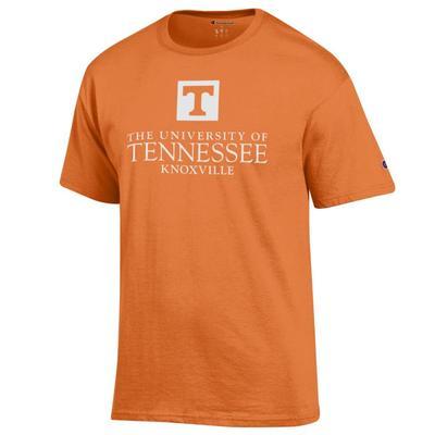 Tennessee Champion Men's University Mark Tee Shirt