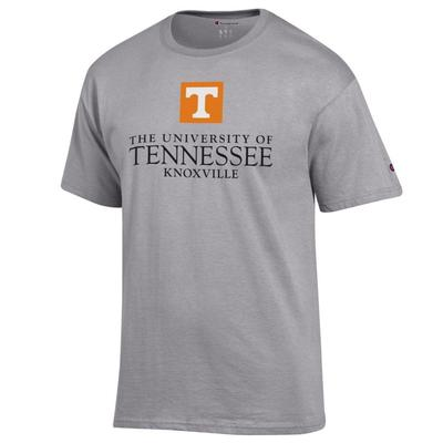 Tennessee Champion Men's University Mark Tee Shirt