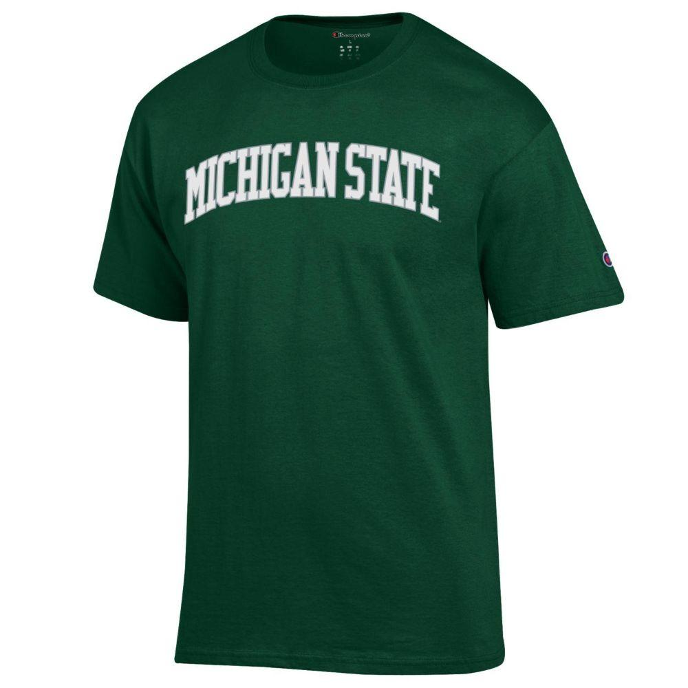 Michigan State Champion Men's Arch Tee Shirt