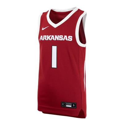 Arkansas YOUTH Replica Basketball Jersey