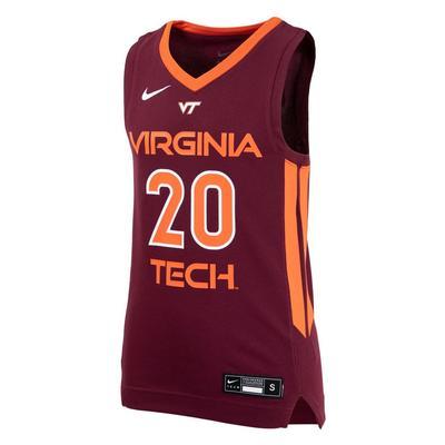 Virginia Tech YOUTH Replica Basketball Jersey