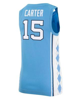 North Carolina YOUTH Carter Basketball Jersey