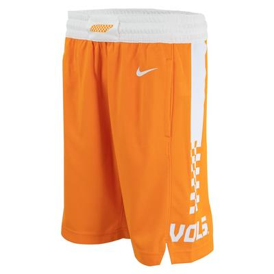 Tennessee YOUTH Replica Basketball Shorts