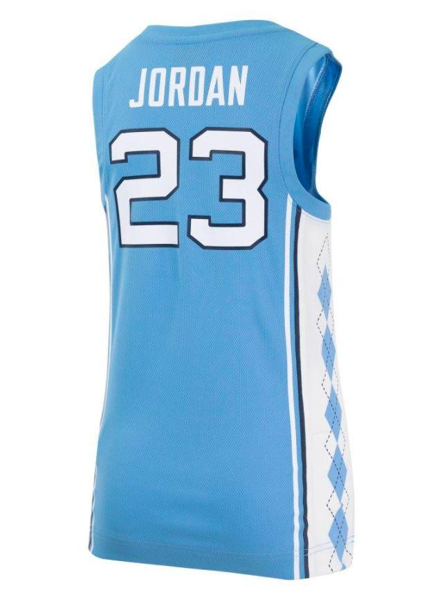 UNC   North Carolina YOUTH Jordan Basketball Jersey   Alumni Hall