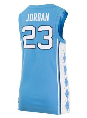 North Carolina YOUTH Jordan Basketball Jersey