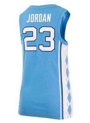 North Carolina YOUTH Jordan Basketball Jersey