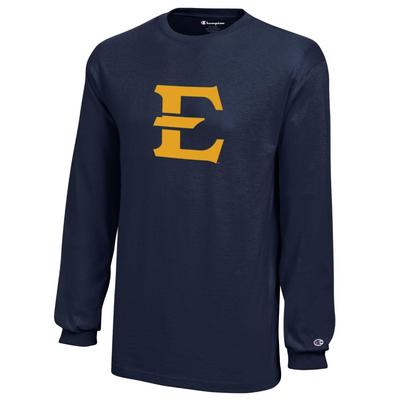 ETSU Champion YOUTH Jersey Long Sleeve Tee