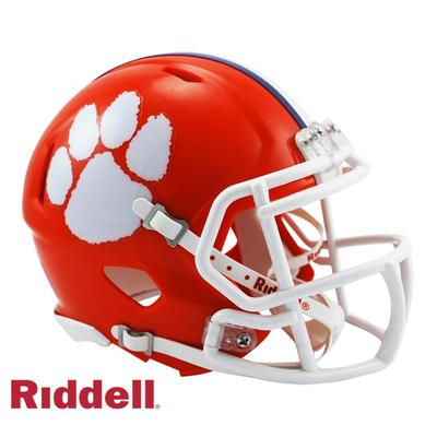 Clemson Riddell Speed Mini Helmet