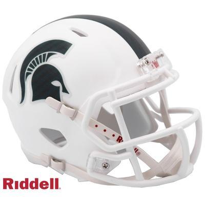 Michigan State Riddell Speed Mini Helmet