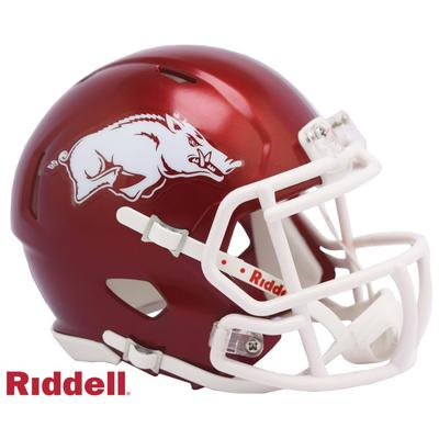 Arkansas Riddell Speed Mini Helmet