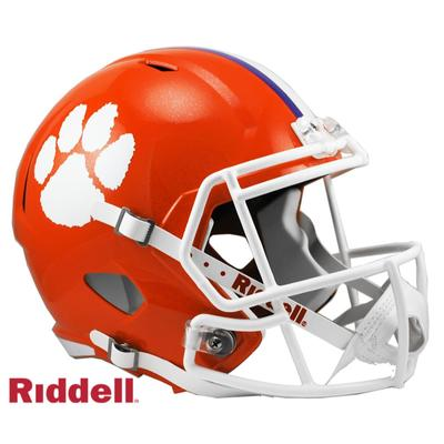 Clemson Riddell Speed Replica Helmet