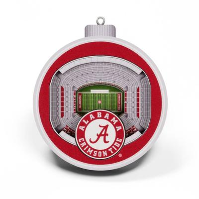 Alabama 3D Stadium Ornament