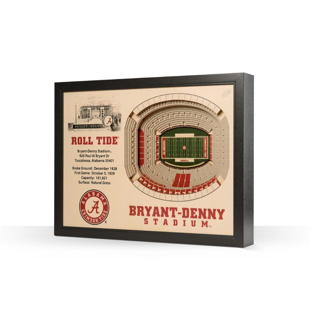 Alabama Bryant- Denny Stadium Wall Art