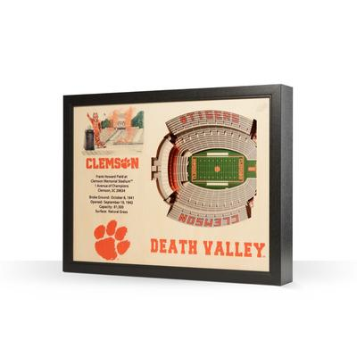 Clemson Memorial Stadium Wall Art