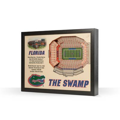 Florida Ben Hill Griffin Stadium Wall Art