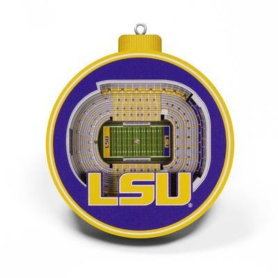 LSU 3D Stadium Ornament
