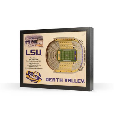 LSU Tiger Stadium Wall Art