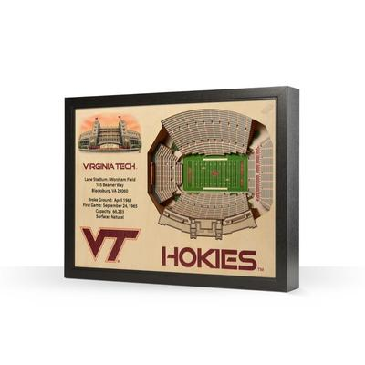 Virginia Tech Lane Stadium Wall Art