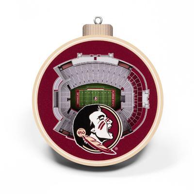 Florida State 3D Stadium Ornament