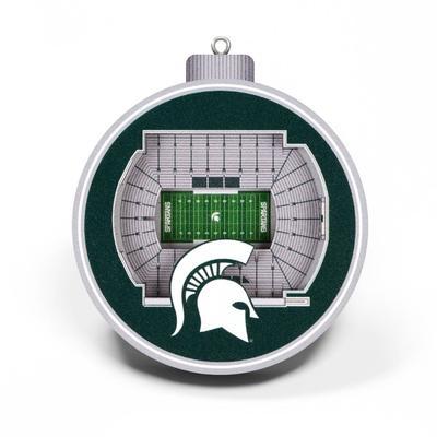 Michigan State 3D Stadium Ornament