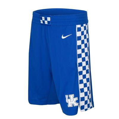 Kentucky YOUTH Nike Basketball Replica Shorts