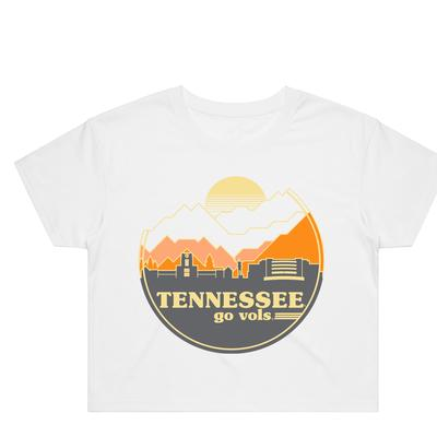 Tennessee Uscape Women's Crop Tee