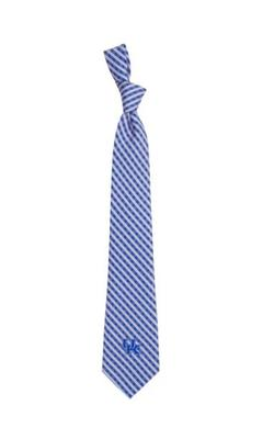 Kentucky Eagles Wings Gingham Tie