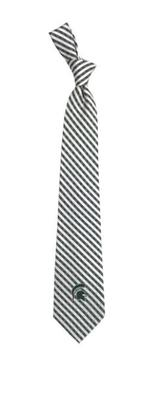Michigan State Eagles Wings Gingham Tie