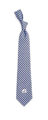 UNC Eagles Wings Gingham Tie