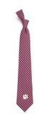 Clemson Eagles Wings Gingham Tie