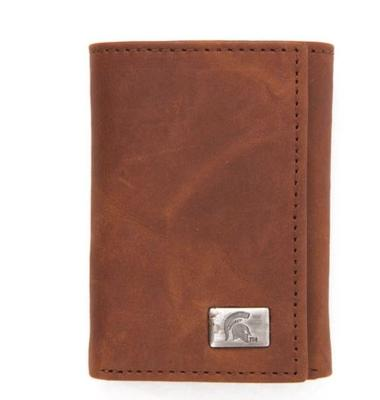 Michigan State Eagles Wings Tri Fold Wallet