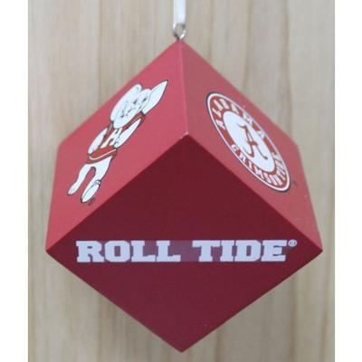 Alabama Cube Ornament