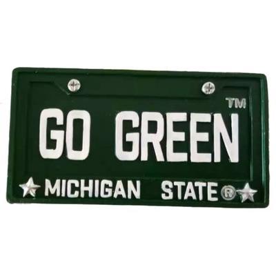 Michigan State License Plate Ornament