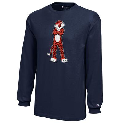 Auburn Champion YOUTH Long Sleeve Tee