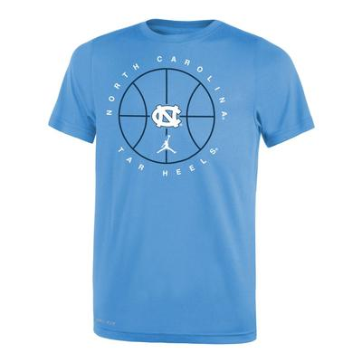 North Carolina YOUTH Nike Practice Legend Tee