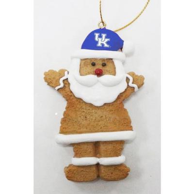 Kentucky Resin Cookie Dough Santa Ornament